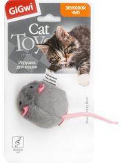 Мышка с электронным звуковым чипом игрушка для кошек