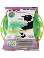 Трек с контейнером для кошачьей мяты игрушка для кошек