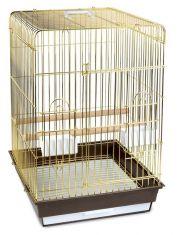 Клетка 1302G для птиц, золото