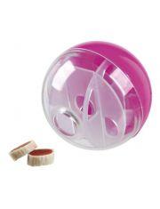 "Игрушка для лакомств ""Мяч"", пластик"