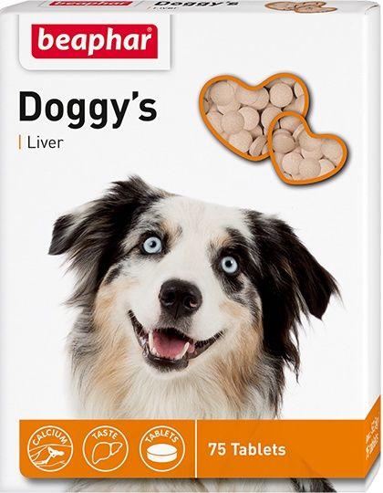 Doggys +Liver кормовая добавка  со вкусом печени для собак