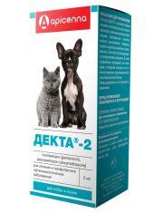 Декта-2 глазные капли для собак и кошек