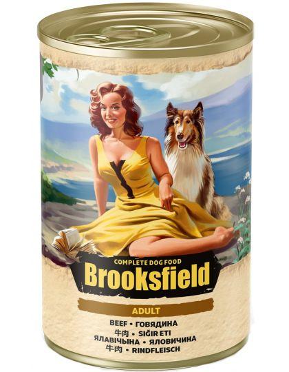 Adult Dog с говядиной и коричневым рисом влажный корм для взрослых собак