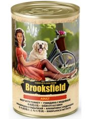 Adult Dog с говядиной, индейкой и коричневым рисом влажный корм для взрослых собак