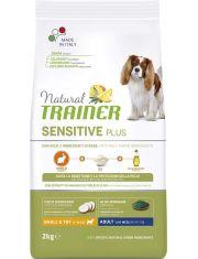 Natural Sensitive Plus Adult Mini Rabbit с кроликом и рисом для взрослых собак мелких пород    склонных к пищевой аллергии, непереносимости, с чувствительным пищеварением, проблемами шерсти и кожного покрова
