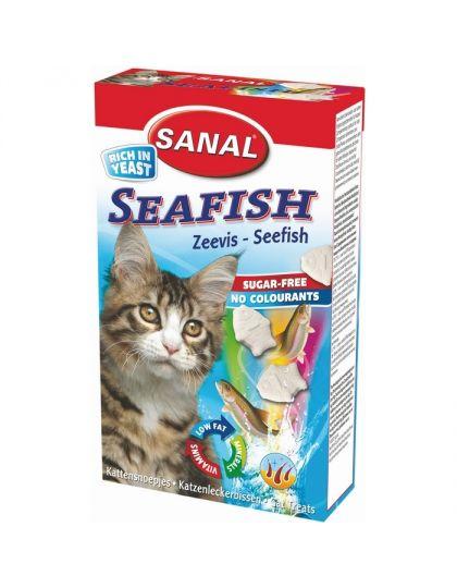 Seafish витамины для кошек 85 таблеток