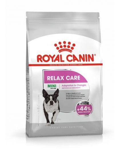 Mini Relax Care  сухой полнорационный корм  для взрослых и стареющих собак мелких размеров подверженных стрессу