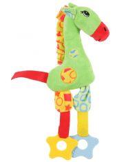 Жираф игрушка для собак, зеленый