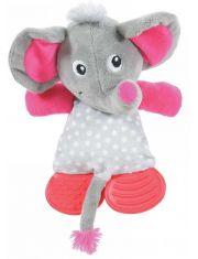 Игрушка плюшевая с резиновыми вставками для щенков, слоник