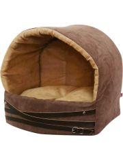 Дом эстрада Дерби для кошек и собак коричневый