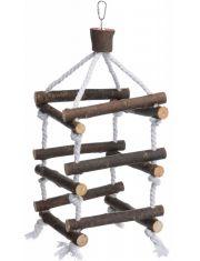 Лестница для попугая, деревянная