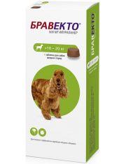 Бравекто жевательная таблетка для собак 10-20кг