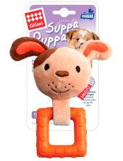 Собачка с пищалкой игрушка для щенков