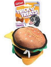 Гамбургер с пищалкой с нишей под лакомство