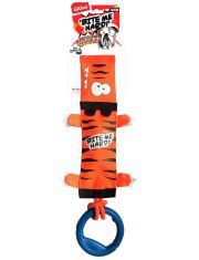 Тигр на веревке с ручкой