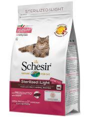 Sterilised&Light для кошек стерилизованных с ветчиной
