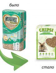 Chipsi Original целлюлозный наполнитель для мелких домашних животных и птиц