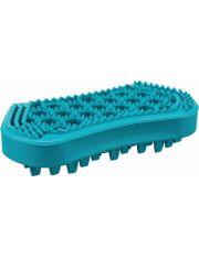 Щётка массажная c зубчиками натуральный каучук