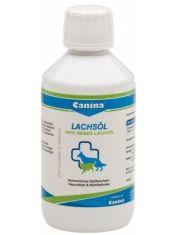 Canina Lachsol  100% лососевое масло пищевая добавка для кожи и шерсти, обмена веществ