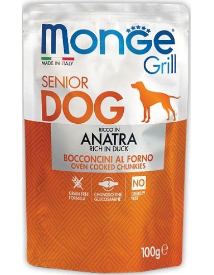 Grill SENIOR ANATRA паучи для пожилых собак с уткой