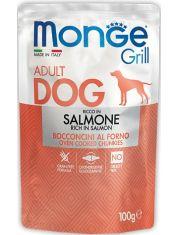 Grill SALMONE паучи с лососем для взрослых собак всех пород