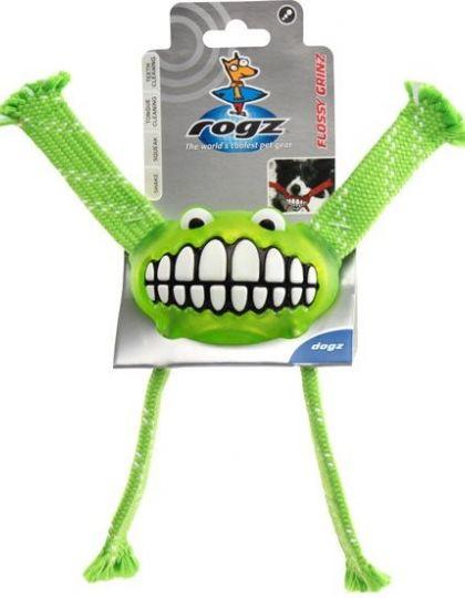 Flossy Grinz игрушка с принтом зубы и пищалкой большая