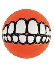 Grinz мяч с принтом зубы и отверстием для лакомств