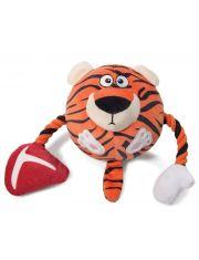 """""""Тигр"""" игрушка с пищалкой для собак"""
