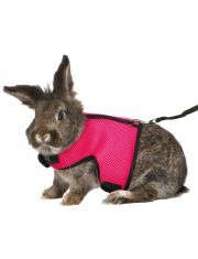Шлейка с поводком для грызунов (для кроликов)