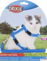 Шлейка с поводком для котят
