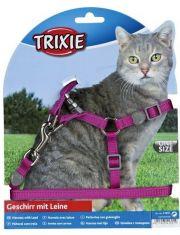 Premium шлейка с поводком для кошки