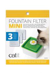 """Фильтры для Фонтанчика-Цветка """"Мини"""" Catit Mini Fountain Filters"""