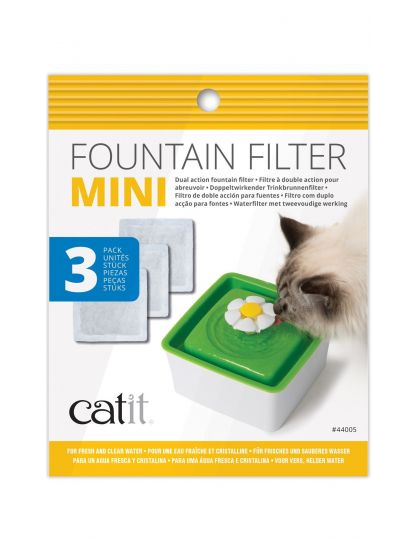 Фильтры для Фонтанчика-Цветка Мини Catit Mini Fountain Filters