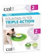 Фильтры для Фонтана-Цветка Catit Senses 2.0 Flower Fountain