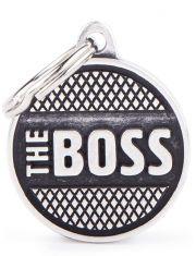 "Адресник Босс ""Bronx The Boss"" маленький"