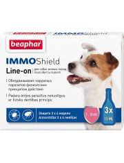 Капли IMMO Shield Line-on от паразитов для собак мелких пород