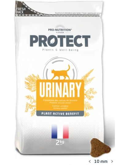Protect Urinary для кошек, которые нуждаются в защите мочевыделительной системы и профилактике почечных камней