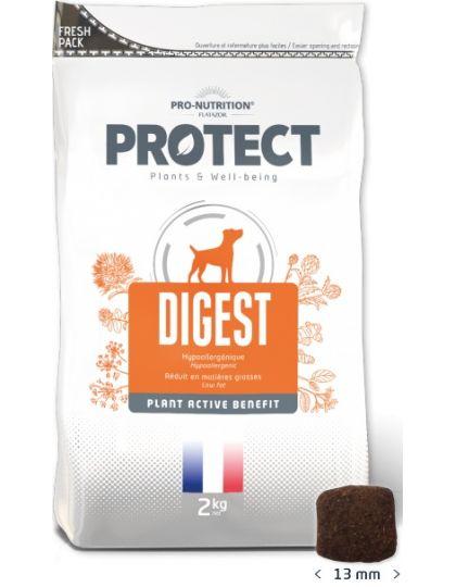 Protect Digest  лечебно-профилактический корм для собак, склонных к заболеваниям желудочно- кишечного тракта,снижение непереносимости компонентов корма