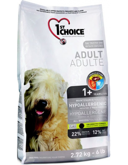 Фест чейс для собак гипоаллергенныйутка/картошка