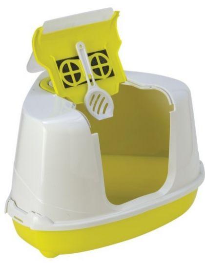 Туалет угловой Flip Corner 55*45*38h см с совком
