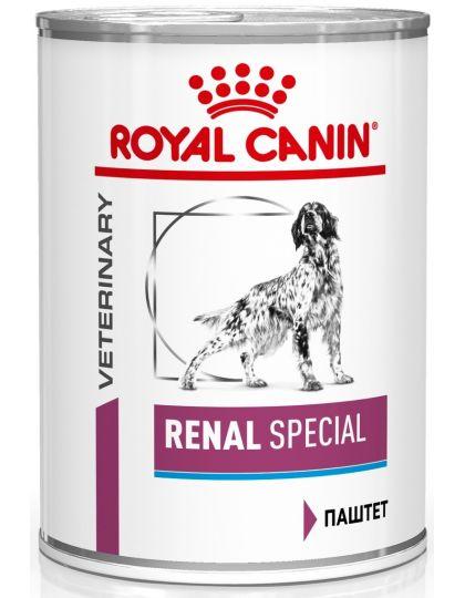 Renal Canine Special паштет (диета) для поддержания функции почек при острой или хронической почечной недостаточности