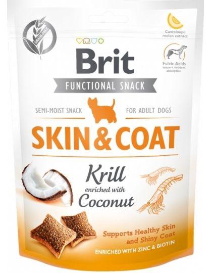 Лакомство для собак Brit Care Skin&Coat Kril