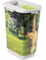 Контейнер для корма или наполнителя CODY Природа /кошки