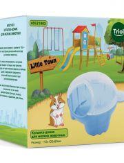 Купалка-домик LITTLE TOWN для мелких животных