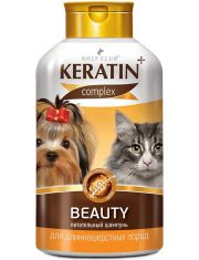 Rolf Club Keratin+Beauty Шампунь питательный для длинношерстных кошек и собак