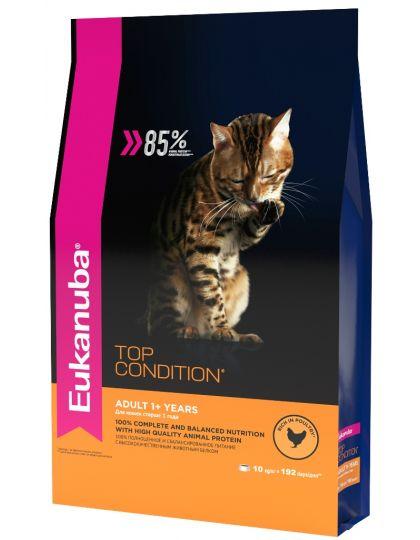 ADULT TOP CONDITION для взрослых кошек с домашней птицей