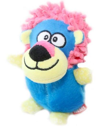 Игрушка для собак Лев с пищалкой
