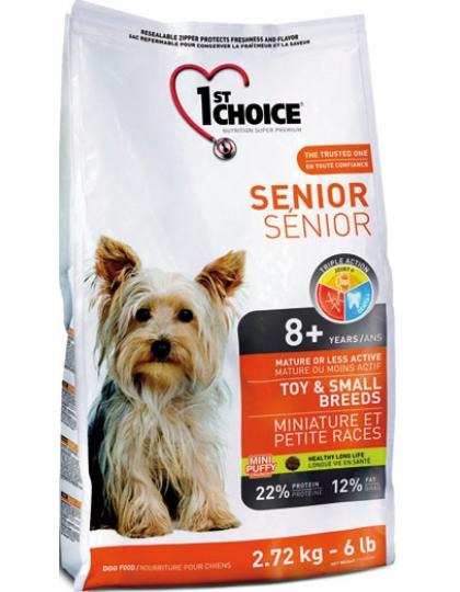 Фест чейс для пожилых собак миниатюрных и мелких породкурица