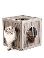 Домик для кошек QUBLO 35*35*35 см