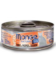 Cat Natural консервы для кошек тихоокеанский тунец с лососем